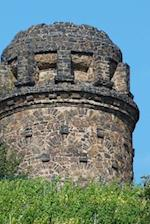 Bismarck Tower in Radebeul, Saxony, Germany