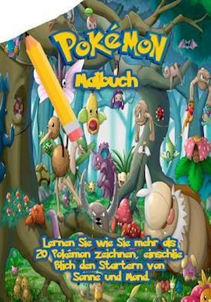 Bog, paperback Pokemon Malbuch af Go with the Flo