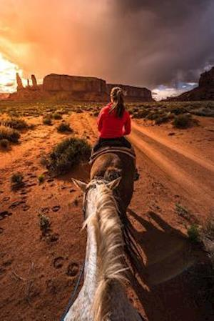 Bog, paperback Horseback Riding in Monument Valley Utah USA Journal af Cs Creations