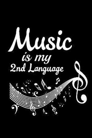 Bog, paperback Music Is My 2nd Language af Journals and More