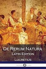 de Rerum Natura (Latin Edition)