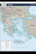 A Physiography Map of the European Nation, Greece