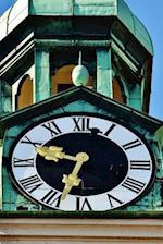 Clock Tower of Marienplatz in Munich, Germany