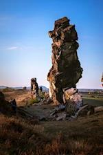 Devils Wall Rock Formation in Germany