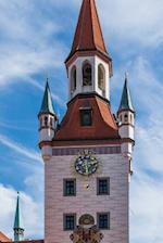The Bell Tower of the Old Town Hall in Munich, Germany