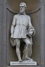 A Statue of Benvenuto Cellini in Florence, Italy