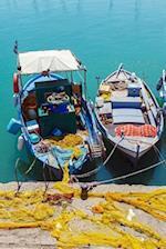 Vintage Fishing Boats at Heraklion Bay Crete Greece Journal