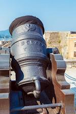 Antique Cannon Inside the Old Fortress of Corfu Greece Journal