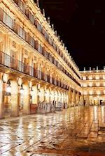 Salamanca Plaza Mayor at Night Spain Journal