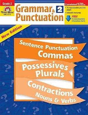 Grammar & Punctuation, Grade 2 [With CDROM] af Jo Ellen Moore, Evan-Moor Educational Publishers