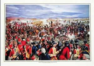 Plakat Highland Charge at Drummossie Muir (Print) af Painting by James Neal Madison