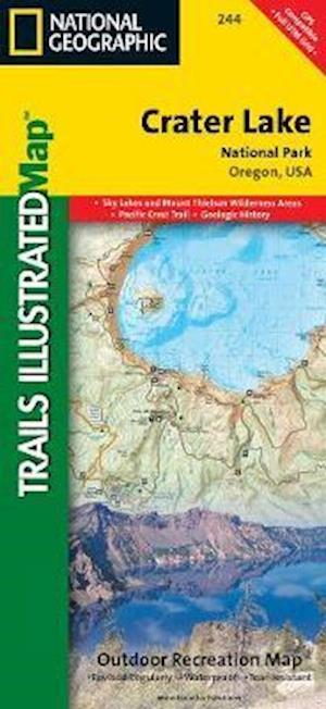 Ukendt format Crater Lake National Park af Rand McNally