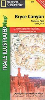 National Geographic Trails Illustrated Map Bryce Canyon National Park af National Geographic Maps
