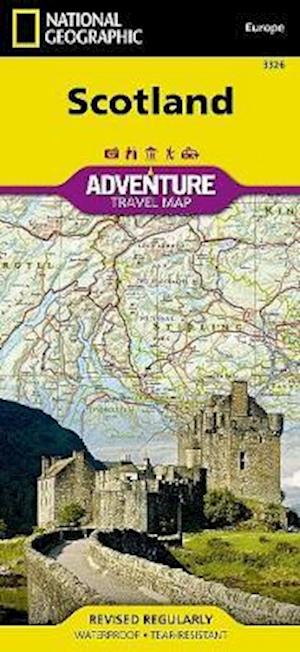 National Geographic Adventure Map Scotland af National Geographic Society