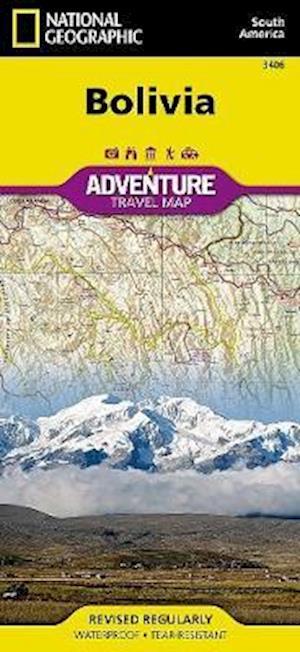 Bolivia af National Geographic Maps