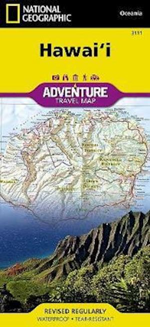 Hawaii af National Geographic Maps
