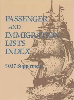 Bog, hardback Passenger and Immigration Lists Index af Gale