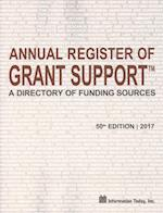 Annual Register of Grant Support 2017 (ANNUAL REGISTER OF GRANT SUPPORT)