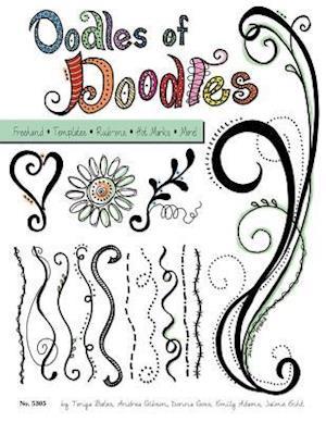 Bog, paperback Oodles of Doodles af Tonya Bates