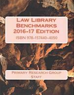 Law Library Benchmarks 2016-2017 Edition