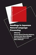 Readings in Japanese Natural Language Processing (CSLI Studies In Computational Linguistics)