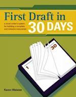 First Draft In 30 Days af Karen Wiesner
