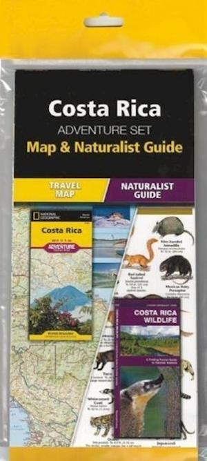 Costa Rica Adventure Set af National Geographic Maps