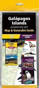 Galapagos Islands Adventure Set af National Geographic Maps