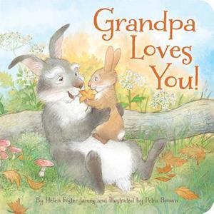 Bog, hardback Grandpa Loves You af Helen Foster James