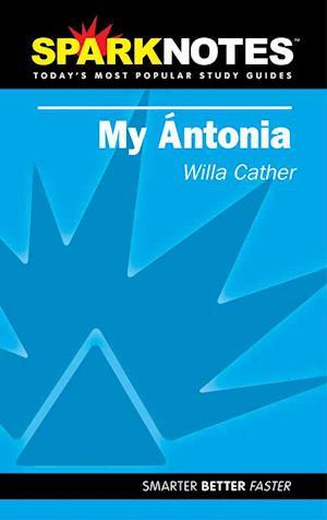 Bog, paperback Sparknotes My Antonia af Sparknotes