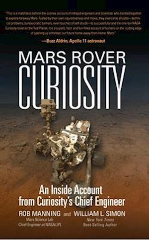 Bog, paperback Mars Rover Curiosity af William L. Simon, Rob Manning