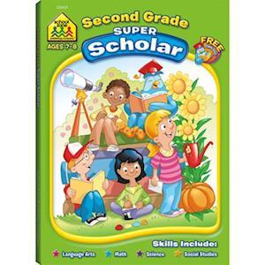 Bog, paperback Second Grade Super Scholar af Linda D. Hartley