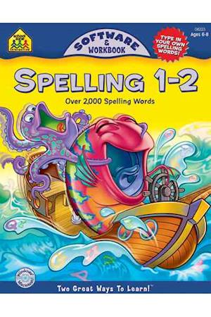 Bog, paperback Spelling 1 - 2 af Arlene Henkel