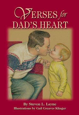 Bog, paperback Verses for Dad's Heart af Steven L. Layne