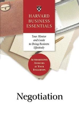 Negotiation af Business Essentials Harvard, Not Available
