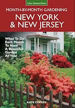 New York & New Jersey Month-By-Month Gardening (MONTH BY MONTH GARDENING)
