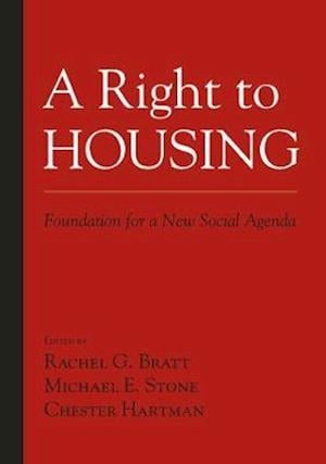 A Right to Housing af Chester Hartman