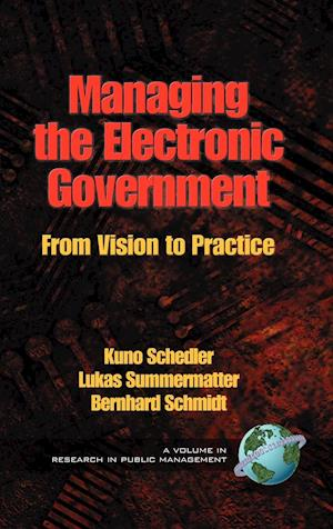 Managing the Electronic Government af Bernhard Schmidt, Kuno Schedler, Lukas Summermatter