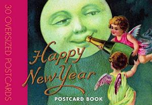 Happy New Year Postcard Book af Laughing Elephant