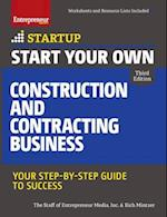 Start Your Own Construction and Contracting Business (START UP)
