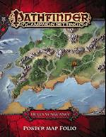 Pathfinder Campaign Setting Hell's Vengeance Poster Map Folio (Pathfinder Campaign Setting)