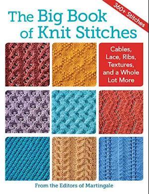 Bog, paperback The Big Book of Knit Stitches af Martingale