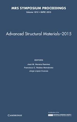 Bog, hardback Advanced Structural Materials - 2015