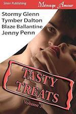 Tasty Treats Anthology, Volume 3 [Man to Man, Boiling Point, Swan Song, Claiming Kristen] (Siren Menage Amour) af Jenny Penn, Stormy Glenn, Tymber Dalton