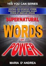 Supernatural Words of Power