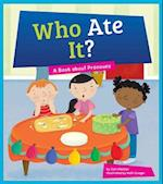Who Ate It? (Say What Parts of Speech)