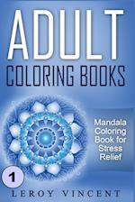 Adult Coloring Books af Leroy Vincent