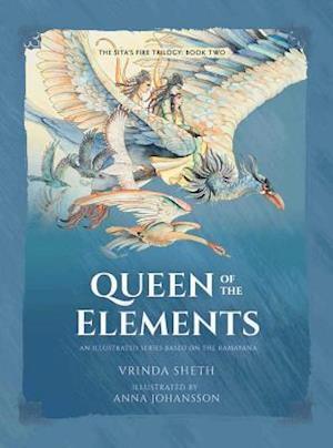 Bog, hardback Queen of the Elements af Vrinda Sheth