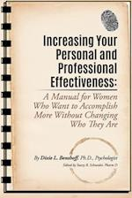 Increasing Your Personal and Professional Effectiveness