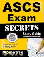 ASCS Exam Secrets, Study Guide